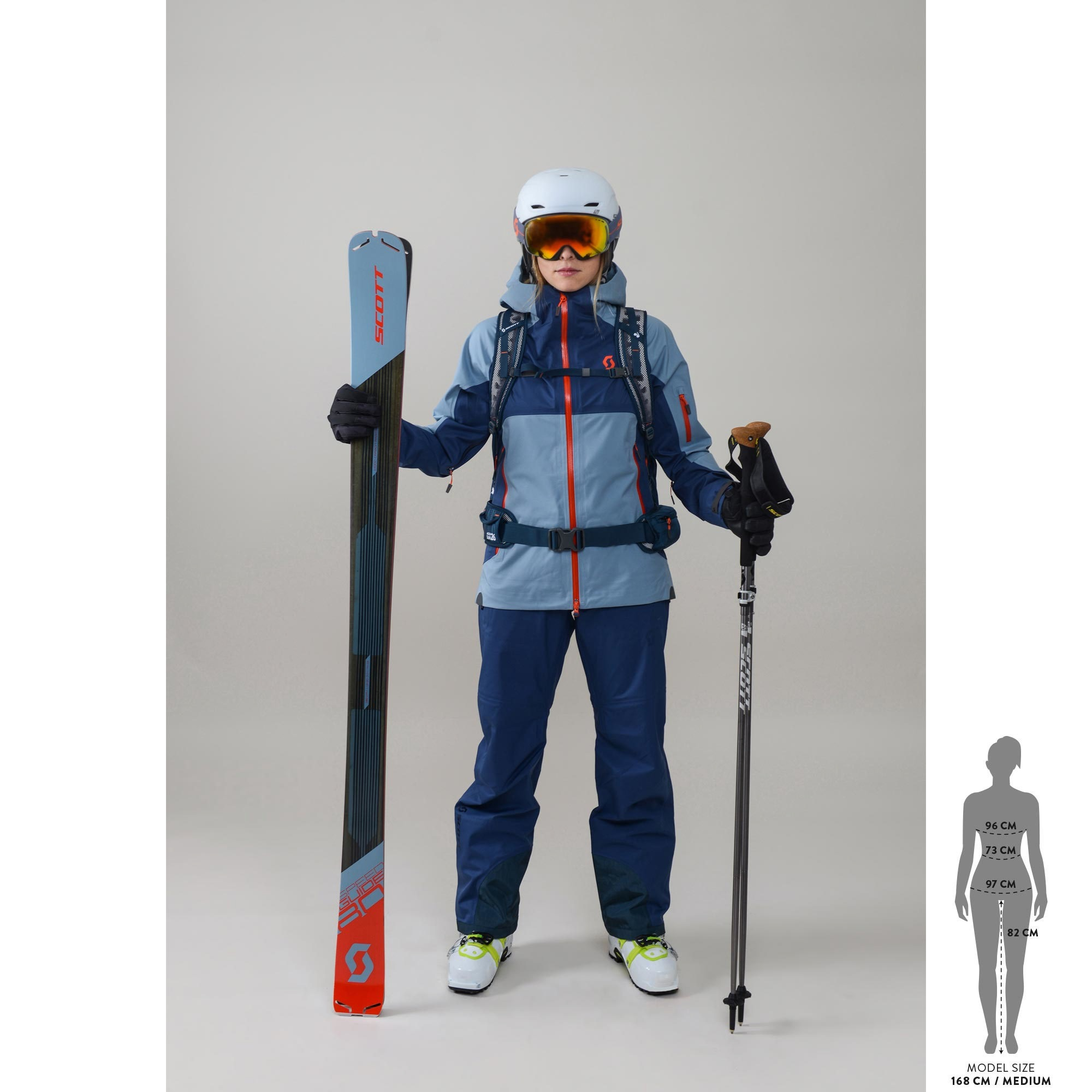 SCOTT Speedguide 80 Ski für Damen